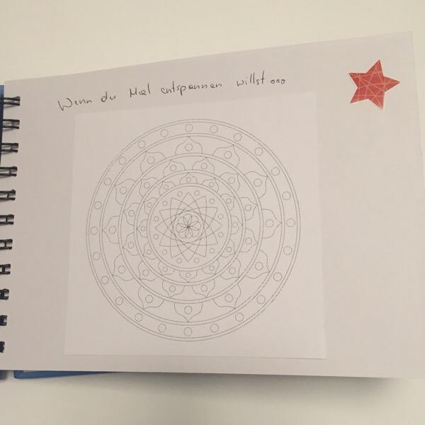 Wenn Buch Idee - Mandala: wenn du dich entspannen willst