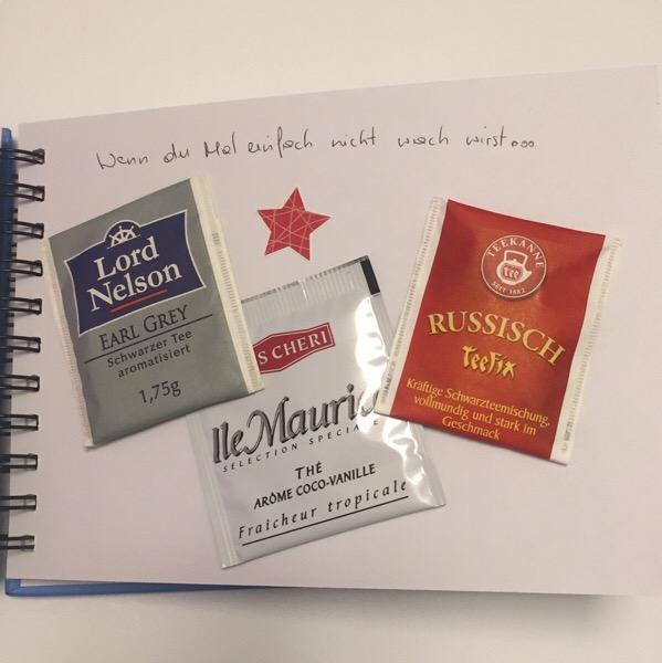 Wenn Buch Idee - Tee Beutel: wenn du Mal nicht wach wirst