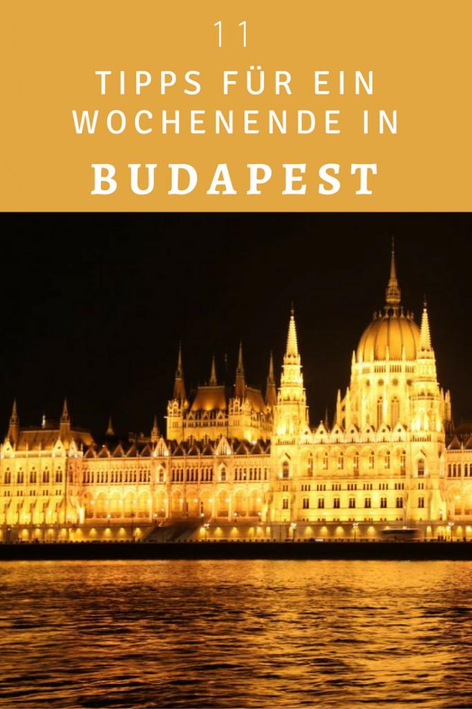 11 Tipps für Budapest