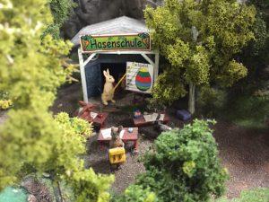 Hasenschule: ein witziges Highlight aus dem Miniatur Wunderland.
