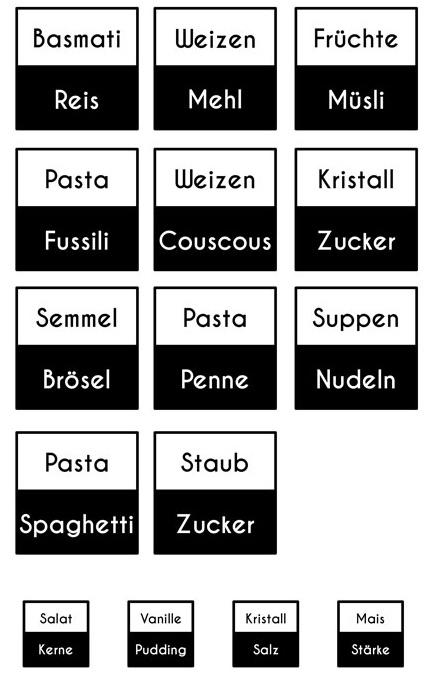 Label-Vorlage